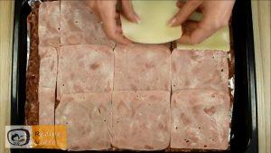 Meat roll with bacon and cheese recipe, prepping Meat roll with bacon and cheese step 3