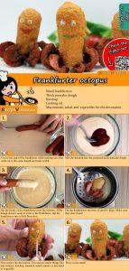 Frankfurter octopus recipe with video