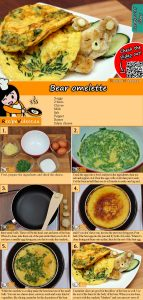 Bear omelette recipe with video