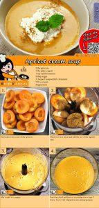 Apricot cream soup recipe with video