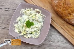 Bread filled with cheese and herbs recipe, how to make Bread filled with cheese and herbs recipe step 1