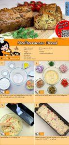 Mediterranean Bread recipe with video