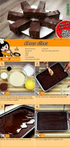 Choco slices recipe with video