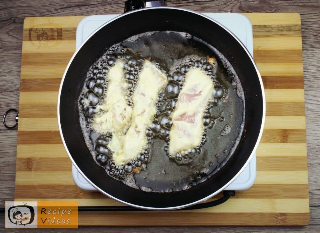 Chicken strips in garlic-sour cream recipe, how to make Chicken strips in garlic-sour cream step 4
