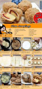 Plum dumplings recipe with video