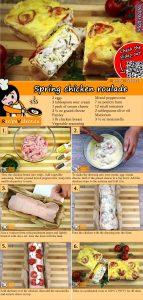 Spring chicken roulade recipe with video