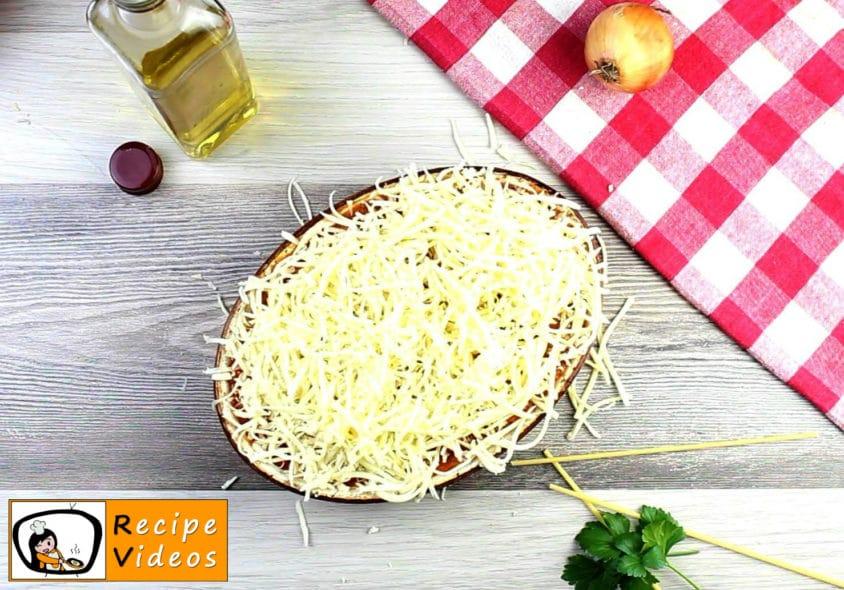 Baked tomato macaroni recipe, prepping Baked tomato macaroni step 10