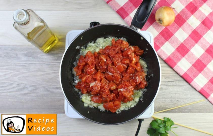 Baked tomato macaroni recipe, prepping Baked tomato macaroni step 3