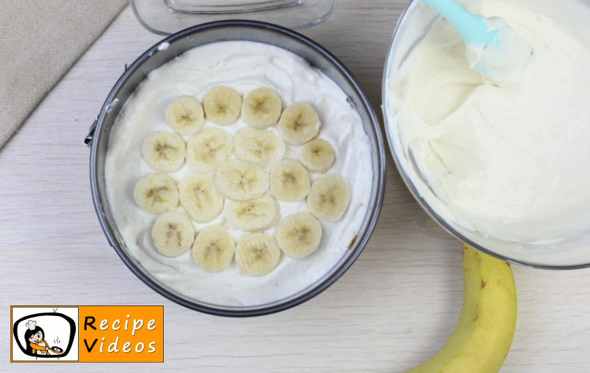 Banana yogurt cake recipe, prepping Banana yogurt cake step 5