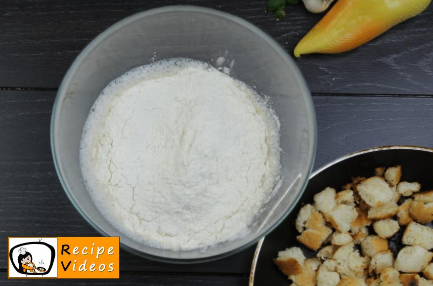 Bread dumplings recipe, prepping Bread dumplings step 4