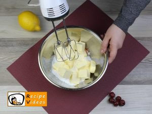 Cherry pound cake recipe, how to make Cherry pound cake step 1