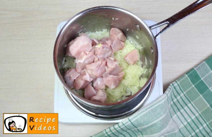 Cholent recipe, how to make Cholent step 4