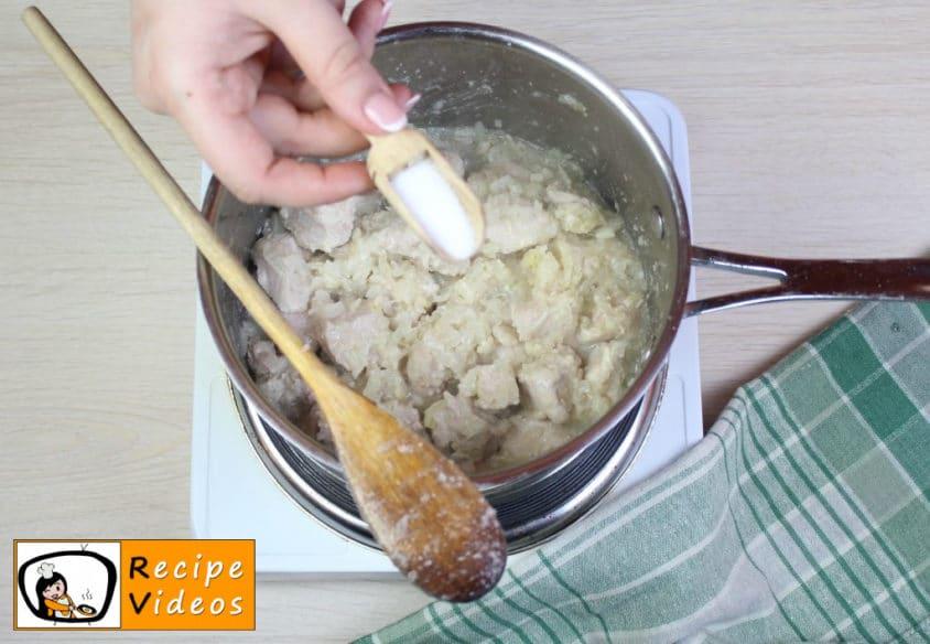 Cholent recipe, how to make Cholent step 6