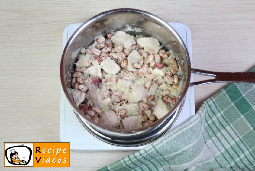 Cholent recipe, prepping Cholent step 7