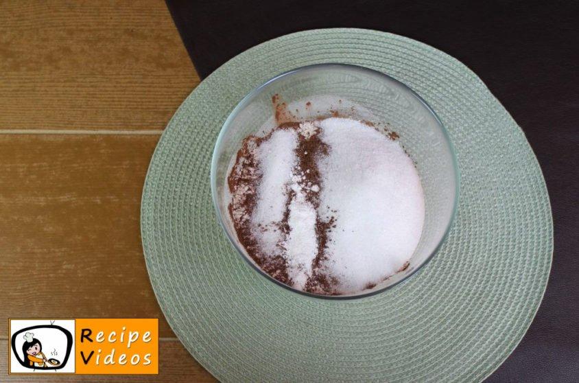 Cocoa curd cake recipe, prepping Cocoa curd cake step 1