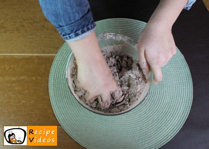 Cocoa curd cake recipe, prepping Cocoa curd cake step 3