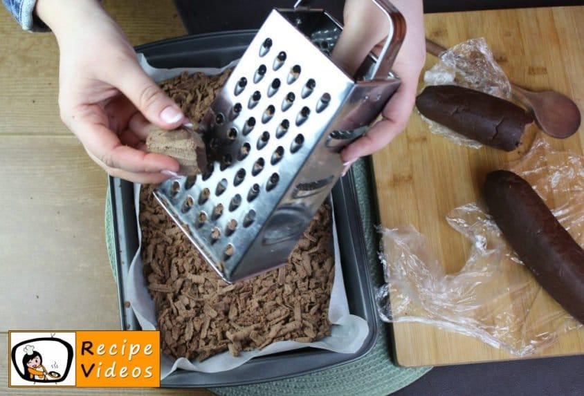 Cocoa curd cake recipe, prepping Cocoa curd cake step 7