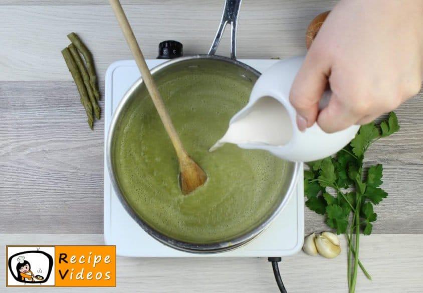 Cream of Asparagus soup recipe, how to make Cream of Asparagus soup step 5