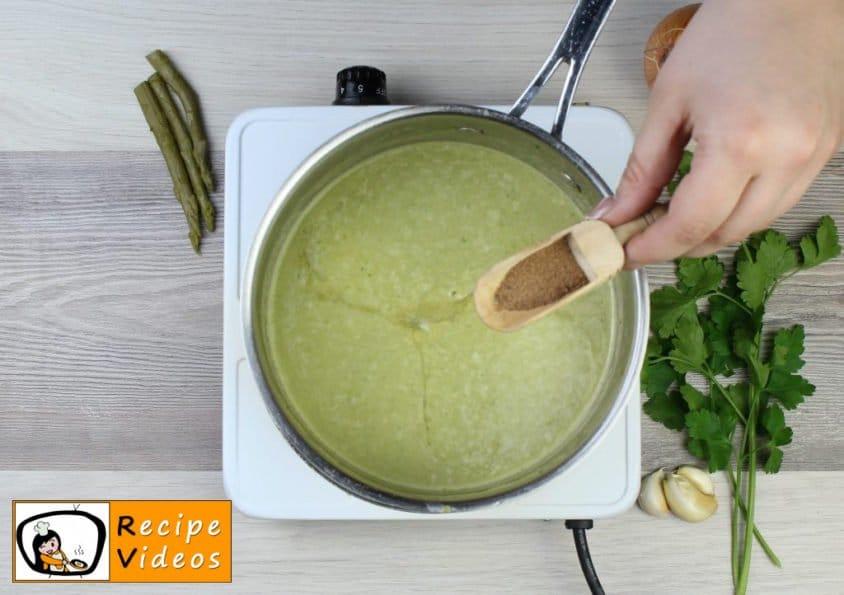 Cream of Asparagus soup recipe, how to make Cream of Asparagus soup step 6