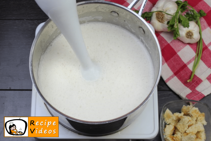 Creamy cheese soup recipe, prepping Creamy cheese soup step 6