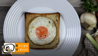 Creative Easter breakfast recipe, how to make Creative Easter breakfast step 2