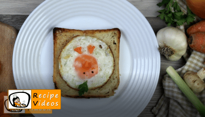 Creative Easter breakfast recipe, how to make Creative Easter breakfast step 6