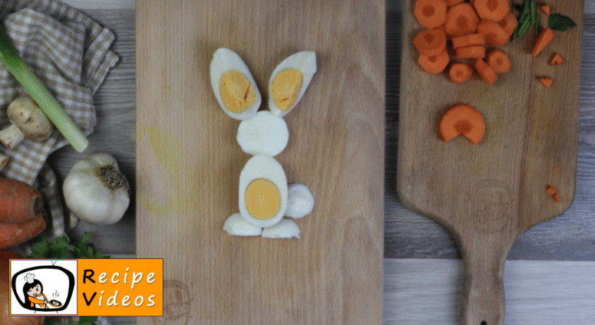 Creative Easter breakfast recipe, how to make Creative Easter breakfast step 8