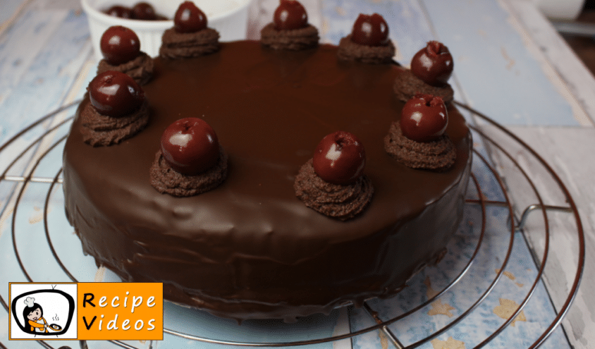 Goosefoot cake recipe, how to make Goosefoot cake step 12