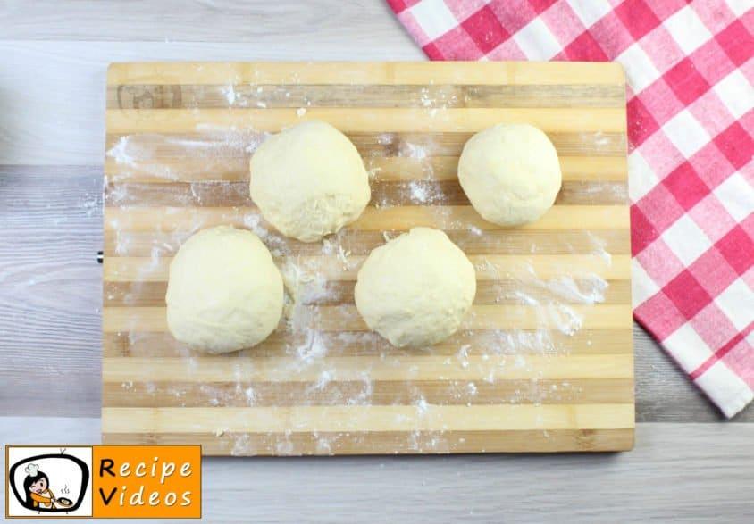 Hamburger buns recipe, how to make Hamburger buns step 4