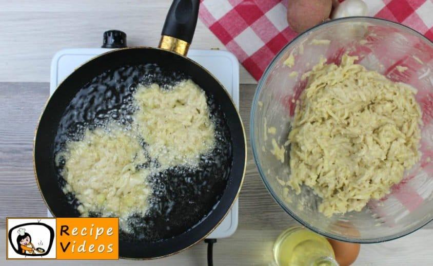 Hash browned potatoes recipe, prepping Hash browned potatoes step 4