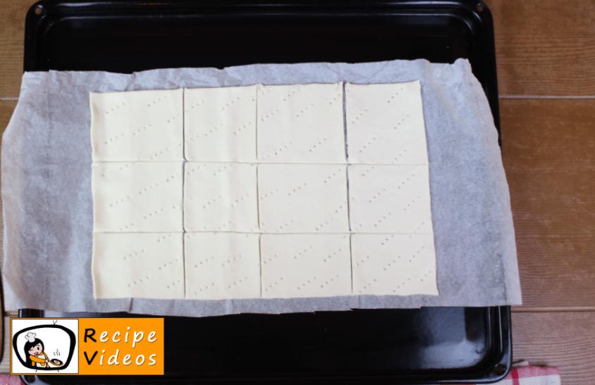 Home-made cream slices recipe, prepping Home-made cream slices step 2