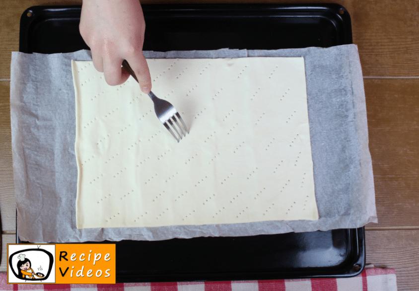 Home-made cream slices recipe, prepping Home-made cream slices step 1