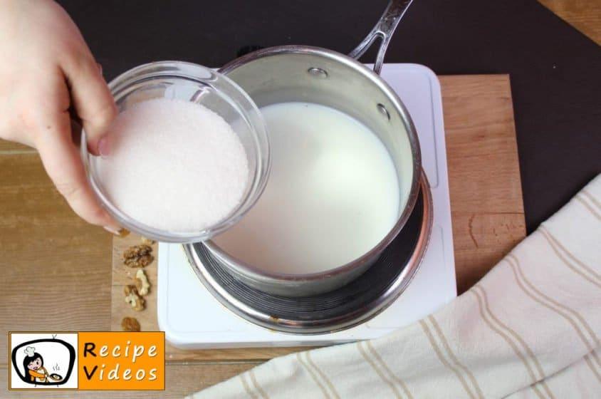 Homemade Gundel pancakes recipe, prepping Homemade Gundel pancakes step 1