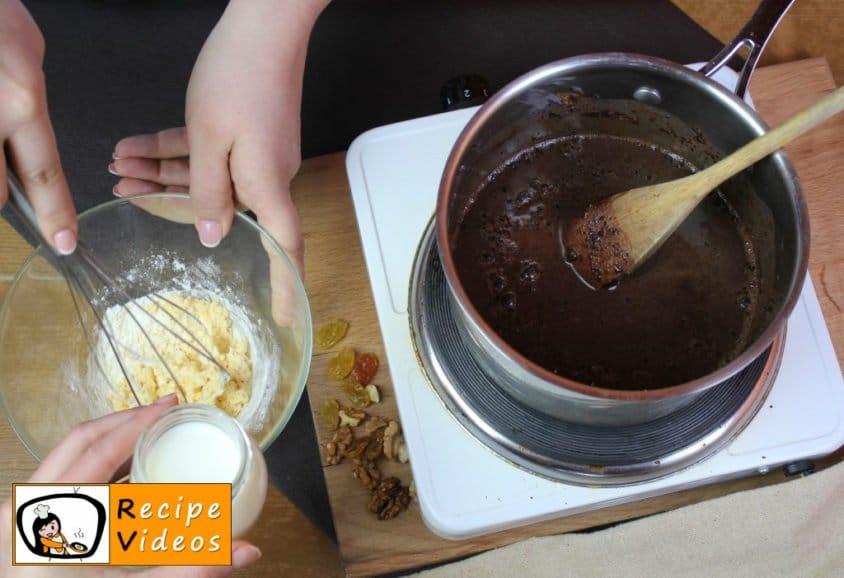 Homemade Gundel pancakes recipe, prepping Homemade Gundel pancakes step 8