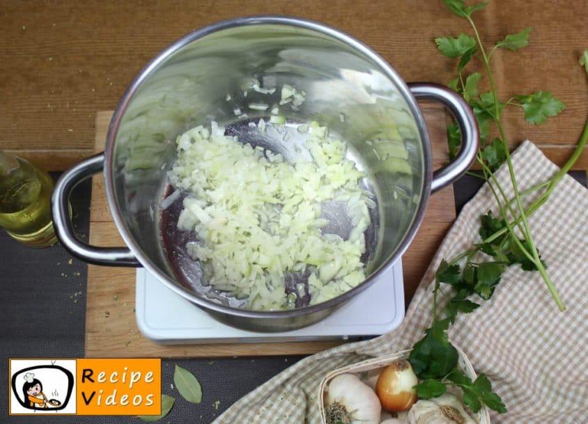 Palóc soup recipe, prepping Palóc soup step 1