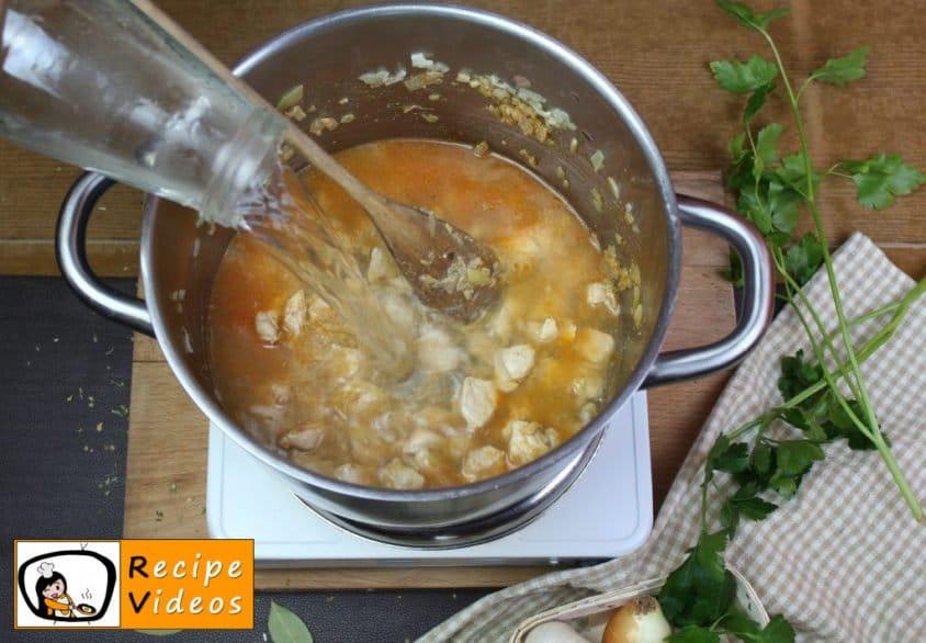 Palóc soup recipe, prepping Palóc soup step 7