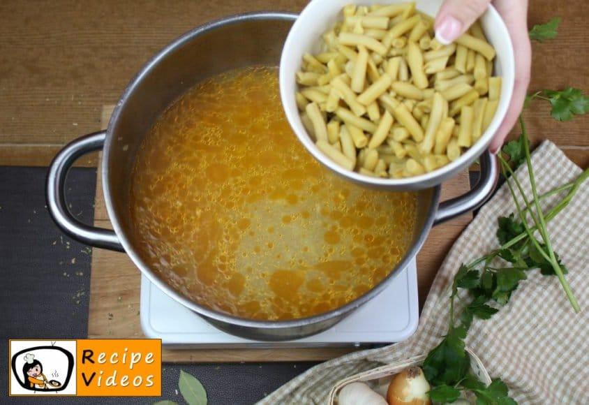 Palóc soup recipe, prepping Palóc soup step 9