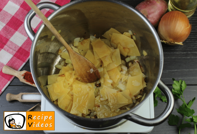 Lebbencs Soup recipe, how to make Lebbencs Soup step 3