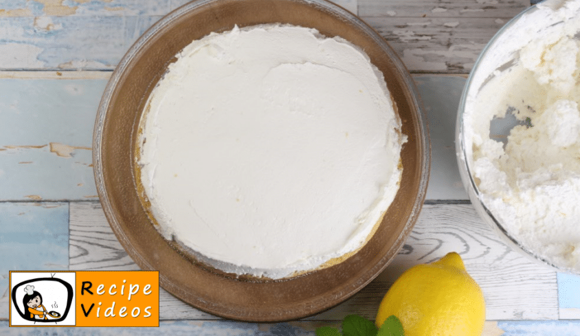Lemon mascarpone cake recipe, how to make Lemon mascarpone cake step 7