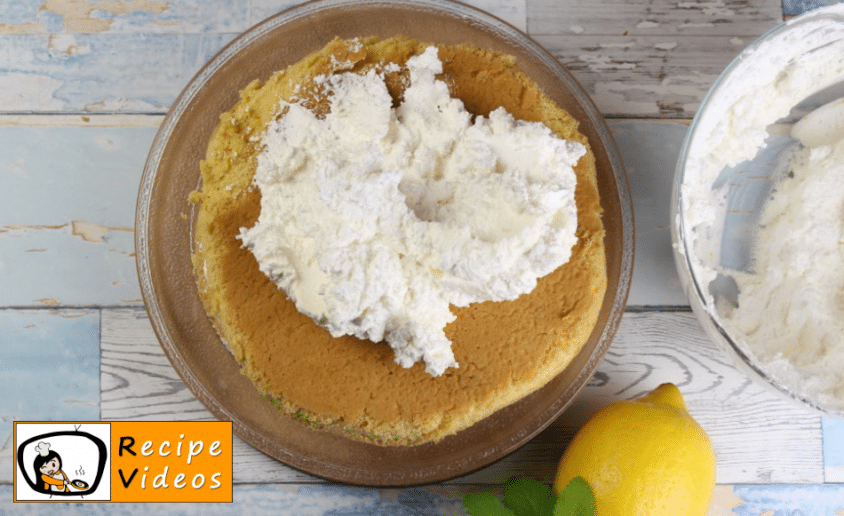 Lemon mascarpone cake recipe, how to make Lemon mascarpone cake step 8