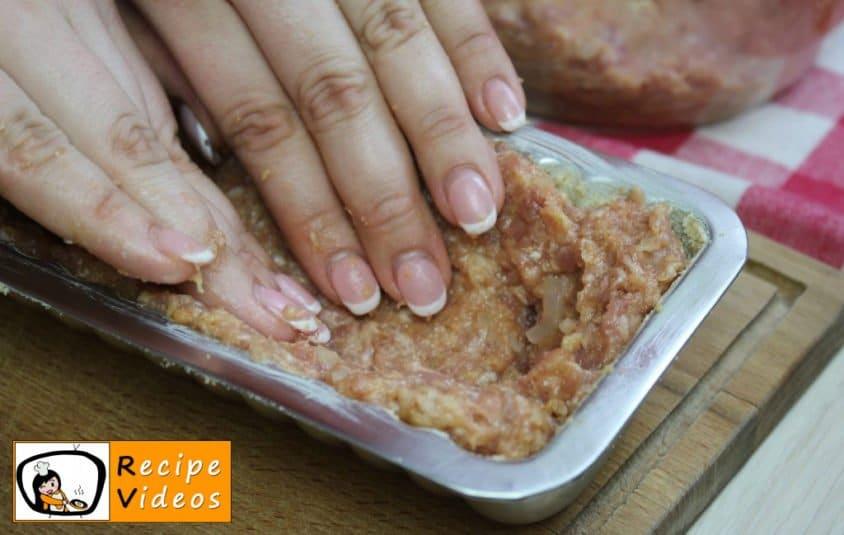 Meatloaf recipe, prepping Meatloaf step 3
