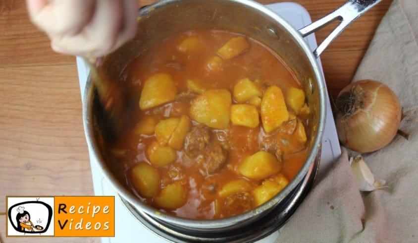Paprika potatoes recipe, prepping Paprika potatoes step 6
