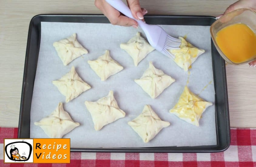 Pockets with minced meat recipe, prepping Pockets with minced meat step 9