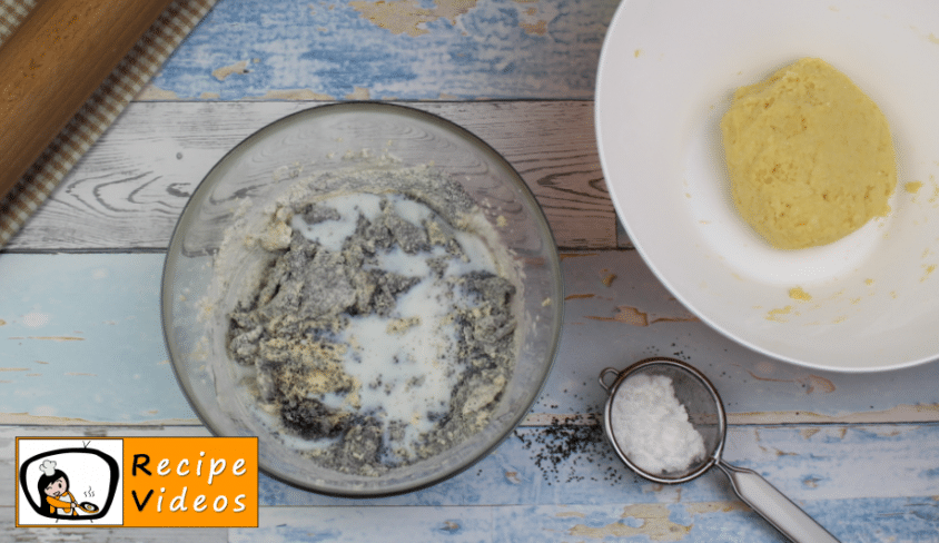 Poppy seed miracle recipe, prepping Poppy seed miracle step 6