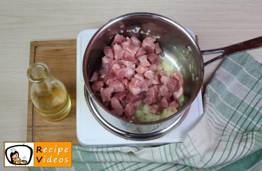 Rice with meat recipe, prepping Rice with meat step 2