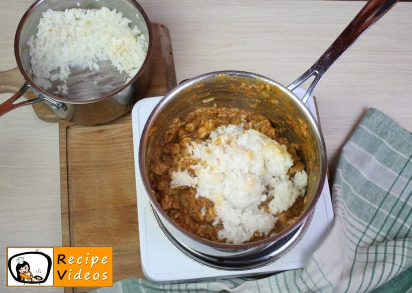 Rice with meat recipe, prepping Rice with meat step 8