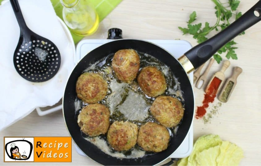 Savoy cabbage meatballs recipe, how to make Savoy cabbage meatballs step 4