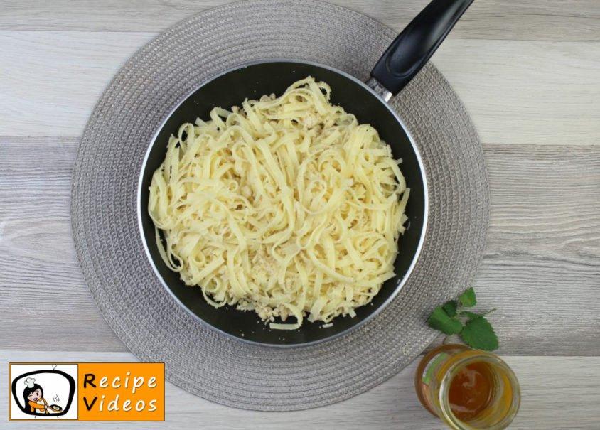 Semolina pasta recipe, prepping Semolina pasta step 3
