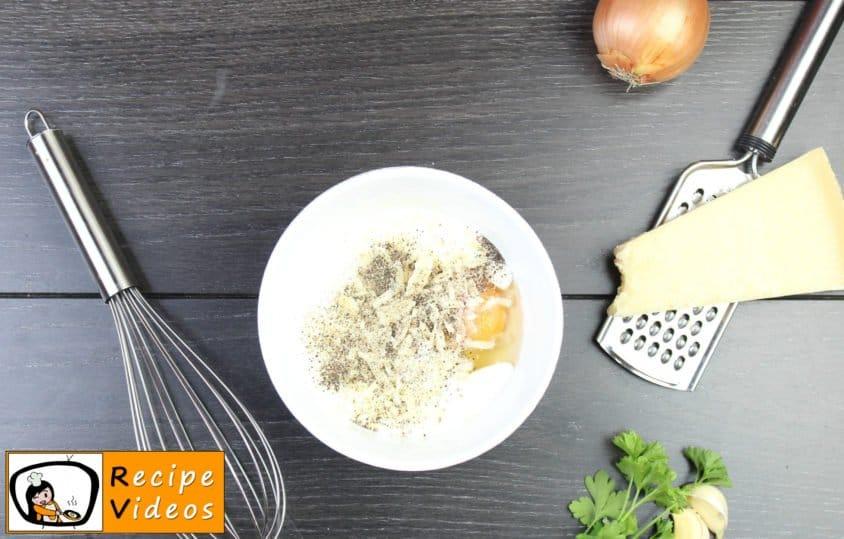 Spaghetti Carbonara recipe, prepping Spaghetti Carbonara step 4