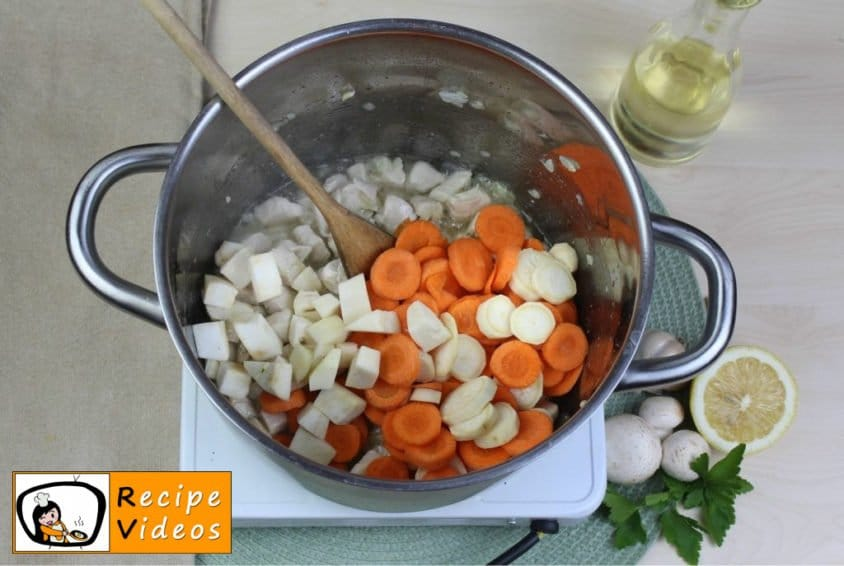 Tarragon ragout soup recipe, how to make Tarragon ragout soup step 2